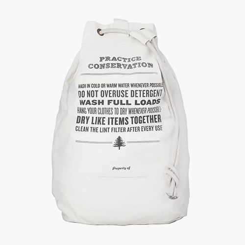 LAUNDRY BAG / Practice Conservation