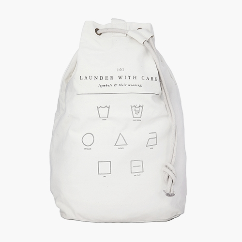 LAUNDRY BAG / Launder With Care