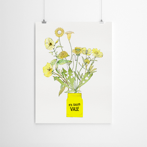 Called Vase - POSTER (2size)