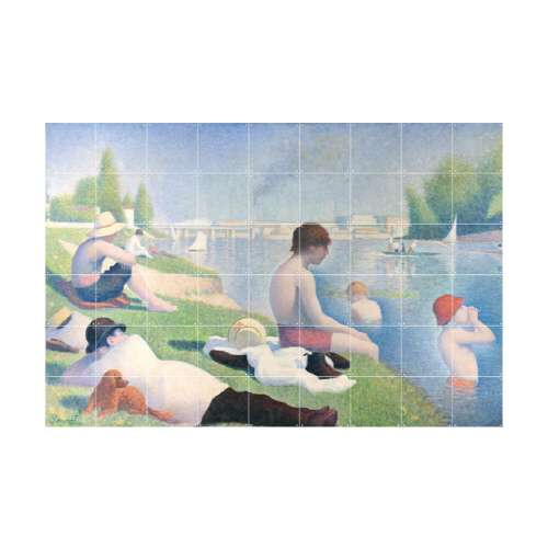 Bathers at Asnieres 아스니에르에서의 물놀이